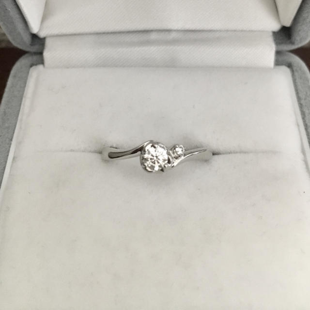 4℃(ヨンドシー)の4℃ ダイヤモンド リング Pt950 0.159ct E VS-1 EX レディースのアクセサリー(リング(指輪))の商品写真