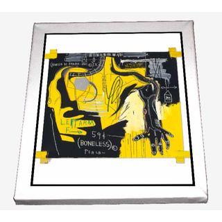 84-ジャン=ミシェル・バスキア Basquiat キャンバスアート 模写(ボードキャンバス)