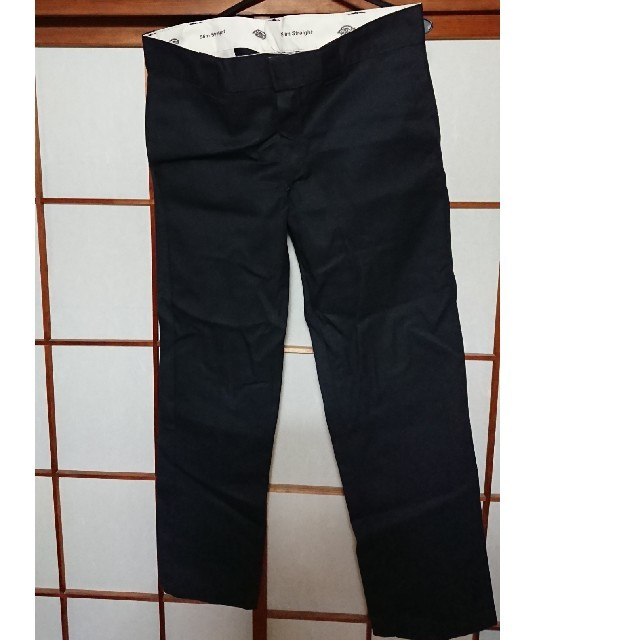 Dickies(ディッキーズ)のDickies ディッキーズ パンツ チノパン ワークパンツ 黒 メンズのパンツ(ワークパンツ/カーゴパンツ)の商品写真