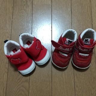 ミキハウス(mikihouse)のMIKI HOUSE 靴2足(スニーカー)