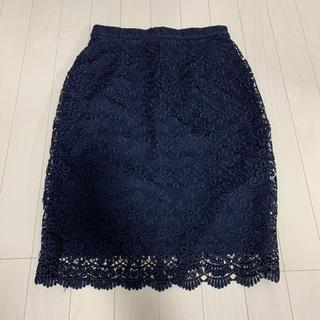ユニクロ(UNIQLO)のUNIQLO♡レーススカート(ひざ丈スカート)