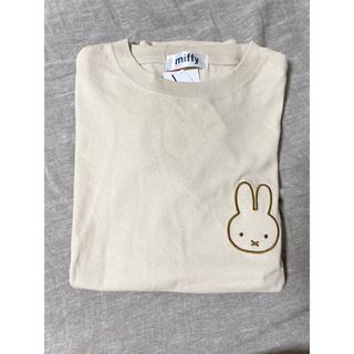 ミッフィー Tシャツ Lサイズ ベージュ(Tシャツ/カットソー(半袖/袖なし))