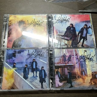 ケヤキザカフォーティーシックス(欅坂46(けやき坂46))のガラスを割れ 欅坂46 CD DVD ABCD(アイドルグッズ)