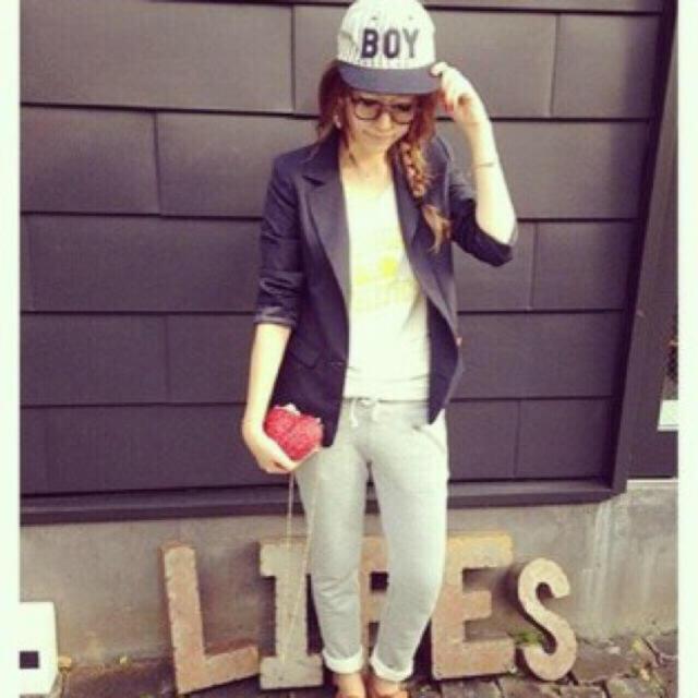TODAYFUL(トゥデイフル)のStripe BOY Cap ☻ レディースの帽子(キャップ)の商品写真