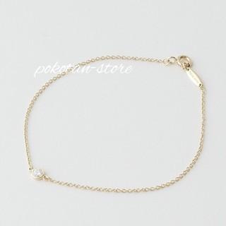 Tiffany & Co. - 【ティファニー】K18YG  ダイヤモンド バイザヤード ブレスレット