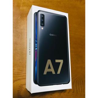 Galaxy - ギャラクシー Galaxy A7 ブラック 64GB 新品・未開封 一括購入品