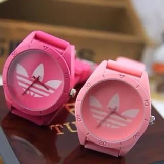 アディダス(adidas)の可愛いピンクadidas腕時計2色 (腕時計)