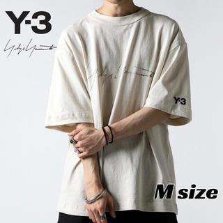 ワイスリー(Y-3)の【新品・20SS】Y-3 ロゴ Tシャツ 新作  ヨウジヤマモト Mサイズ(Tシャツ/カットソー(半袖/袖なし))