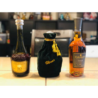 ウィスキー ブランデー 3本セット(ウイスキー)