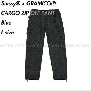 ステューシー(STUSSY)のStussy GRAMICCI CARGO ZIP OFF PANT L(ワークパンツ/カーゴパンツ)