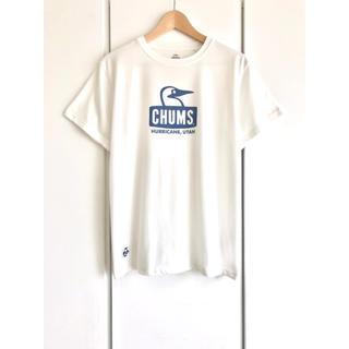 CHUMS - 【希少】CHUMS/チャムス『ブービーフェイス』ロゴTシャツ/ホワイト/メンズM