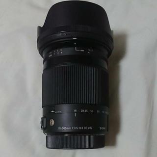 シグマ(SIGMA)のSIGMA 18-300mm F3.5-6.3 DC MACRO HSM (レンズ(ズーム))
