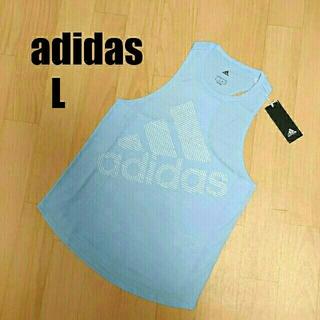 アディダス(adidas)の【Lサイズ】アディダストレーニングウェア タンクトップ(ウェア)