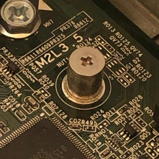 M2-3 m.2 SSD ねじ(PCパーツ)