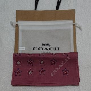 コーチ(COACH)のCOACH ハンカチ  (紙袋・不織布袋付き)(その他)