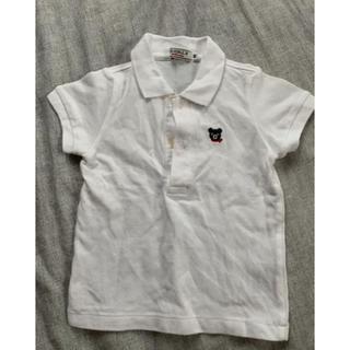 ダブルビー(DOUBLE.B)のダブルビー ポロシャツ80(シャツ/カットソー)