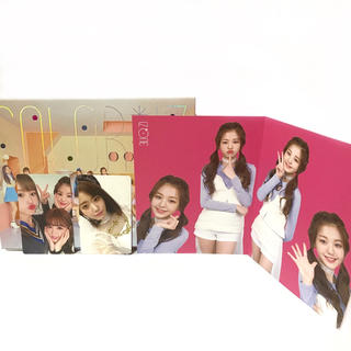 エイチケーティーフォーティーエイト(HKT48)のアイズワン IZ*ONE CD サイン カード 写真集 トレカ カラーアイズ(K-POP/アジア)
