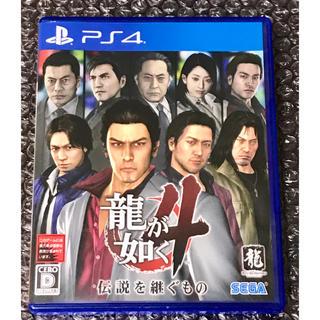 SEGA - PS4 龍が如く4 ラクマパック発送