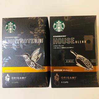 Starbucks Coffee - スタバ オリガミ ドリップコーヒー スターバックス 珈琲 スタバコーヒー