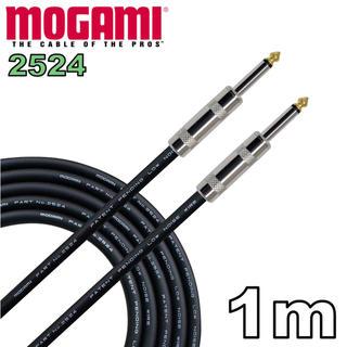 MOGAMI 2524 1m ギター ベース シールド(シールド/ケーブル)