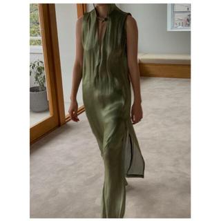 ビューティアンドユースユナイテッドアローズ(BEAUTY&YOUTH UNITED ARROWS)のリトルスージー フード付きドレス(ロングワンピース/マキシワンピース)