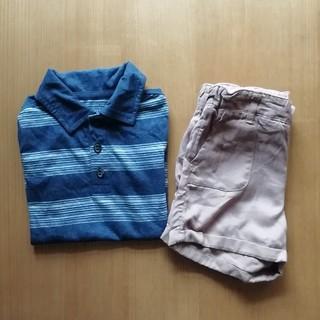 エイチアンドエム(H&M)の半袖Tシャツ ハーフパンツセット(Tシャツ/カットソー)