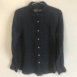 MUJI (無印良品) - 無印良品 フレンチリネンシャツ M