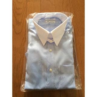 アオキ(AOKI)のワイシャツ 長袖  LES MUES  新品未使用  タブカラー クレリック(シャツ)