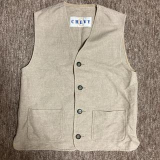 エンジニアードガーメンツ(Engineered Garments)のCHEVY 麻ベスト ヘンプ ヴィンテージ   ビンテージ(ベスト)