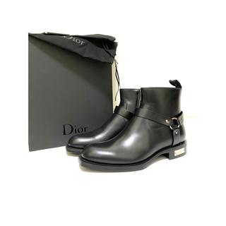 ディオールオム(DIOR HOMME)のレア18AWディオールオム アトリエプレートリングブーツ 41(ブーツ)