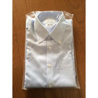 アオキ(AOKI)のワイシャツ 長袖  LES MUES 新品未使用  39-84 ブルー(シャツ)
