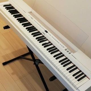 ヤマハ(ヤマハ)のヤマハ 電子ピアノ P-255 保証書付き(電子ピアノ)