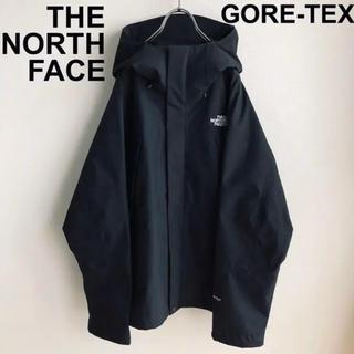 ザノースフェイス(THE NORTH FACE)の極美品‼️ノースフェイス マウンテンパーカー XL ブラック(マウンテンパーカー)