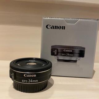 キヤノン(Canon)のcanon EF- 24mm f2.8 レンズ おまけ付き(レンズ(単焦点))