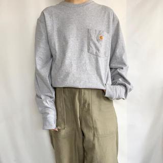 カーハート(carhartt)のCarhartt ポケットTEE(Tシャツ/カットソー(七分/長袖))