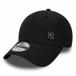 NEW ERA - New Era NY ニューエラ ヤンキース メタルロゴ キャップ 黒 新品