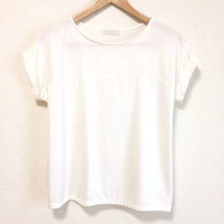 anySiS - anySiS 白 Tシャツ 半袖カットソー トップス オンワード樫山