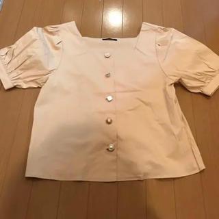 ワンウェイ(one*way)のフロントボタンシャツ(シャツ/ブラウス(半袖/袖なし))