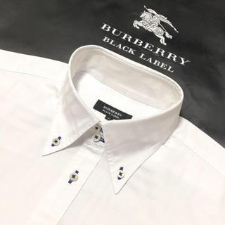美品 バーバリーブラックレーベル 長袖シャツ41
