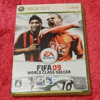 エックスボックス360(Xbox360)のFIFA 09 ワールドクラス サッカー XBOX360(家庭用ゲームソフト)