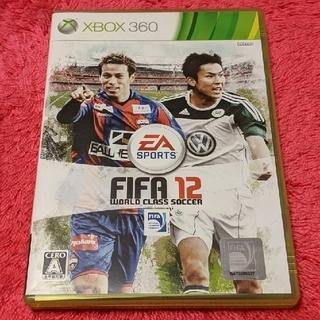 エックスボックス360(Xbox360)のFIFA 12 ワールドクラス サッカー XBOX360(家庭用ゲームソフト)