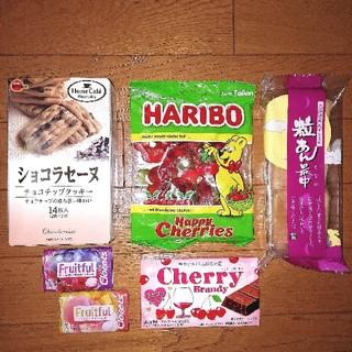 ■お菓子アソート■ハリボーラミーバッカシリーズチョコレート粒あん最中クロレッツ(菓子/デザート)