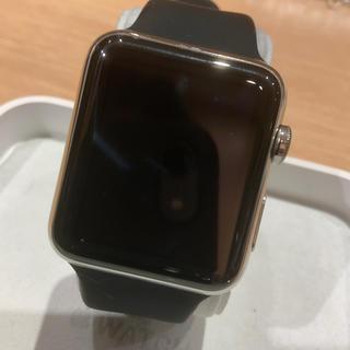アップルウォッチ(Apple Watch)の(純正品) Apple Watch 初代 42mm ステンレス 本体のみ (腕時計(デジタル))
