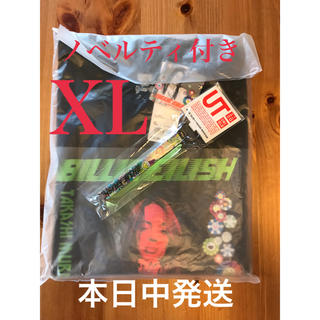 UNIQLO - アイリッシュ×村上隆 UT Tシャツ黒 XL ノベルティ付き