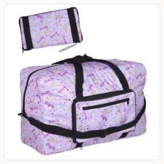 ステラルー&ダッフィー ボストンバッグ 旅行バッグ キャリーバッグ《パープル》(マザーズバッグ)