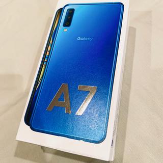 SAMSUNG - Galaxy A7 64GB ブルー
