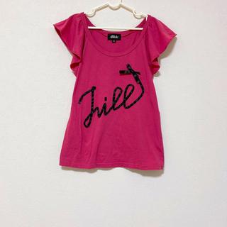 JILLSTUART - ジルスチュアート  Tシャツ カットソー ノースリーブ ピンク