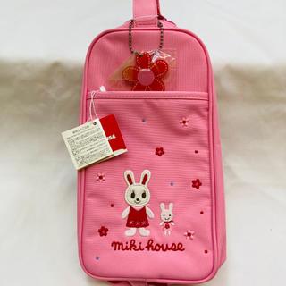 ミキハウス(mikihouse)の新品未使用 ミキハウス シューズバッグ 上履き入れ ピンク (シューズバッグ)