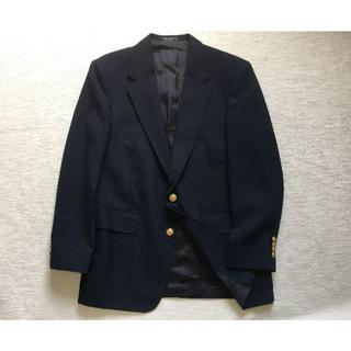 J741★メンズ ジャケット 紺ブレ ブレザー MネイビーJプレス金ボタン(テーラードジャケット)