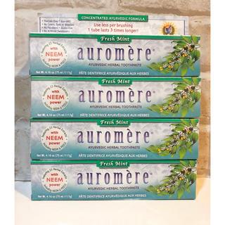 オーロメア(auromere)のauromere オーロメア 歯磨き粉4本セット (歯磨き粉)